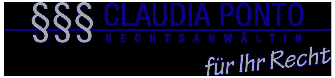 Rechtsanwältin Claudia Ponto